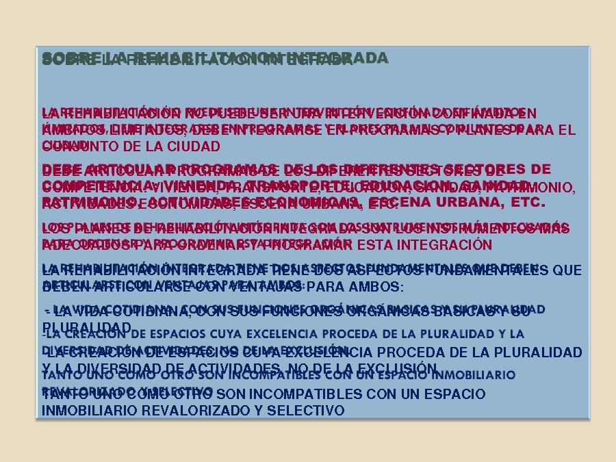 Presentacion Fernando Roch Peña, departamento de Urbanismo e Ordenación do Territorio da Universidade Politécnica de Madrid